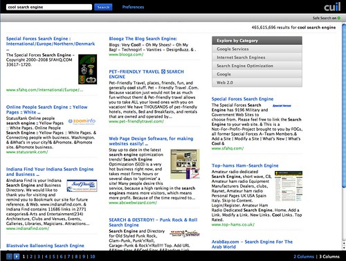 Cuil - Cuil on Cool Search Engine