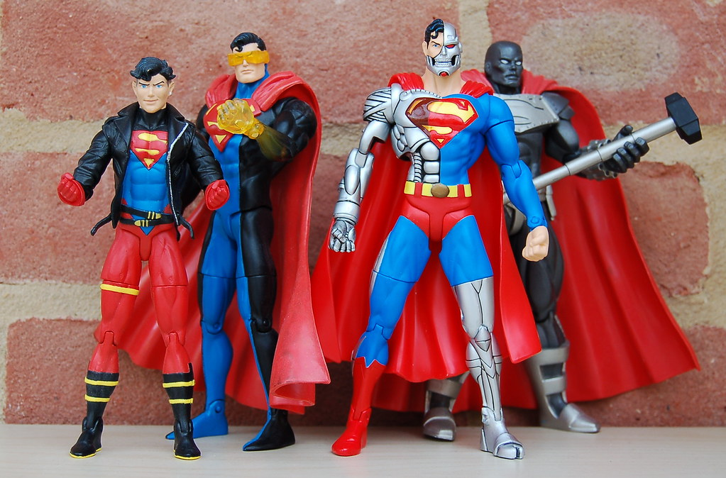 Reign of the Supermen   In the early 90's DC Comics decided