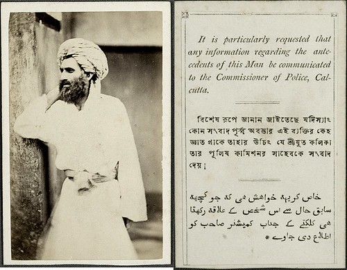 Abdulla, the murderer of Judge John Paxton Norman of Calcutta, 1871 | by whatsthatpicture