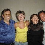 Adam, Gaynor, Steff & ?? - June 2006