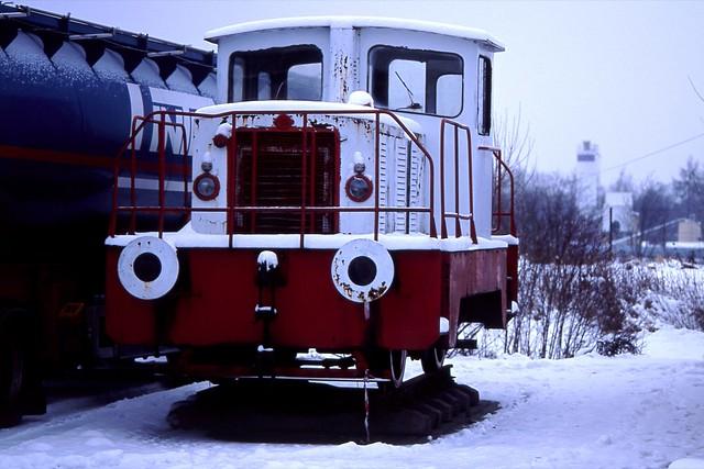 Biała lokomotywa / White locomotive