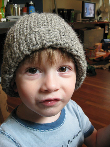 ribbed hat: finished! | by cranky pixels