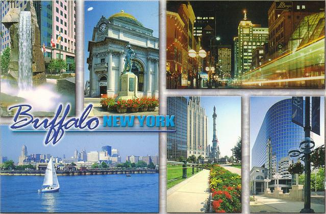 Buffalo, New York Postcard