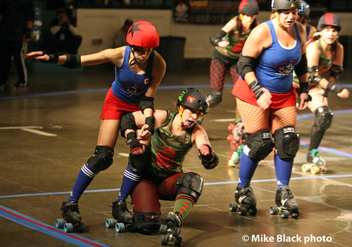 Jersey Shore Roller Girls 29 Nov 2008 | by Mike Black photography