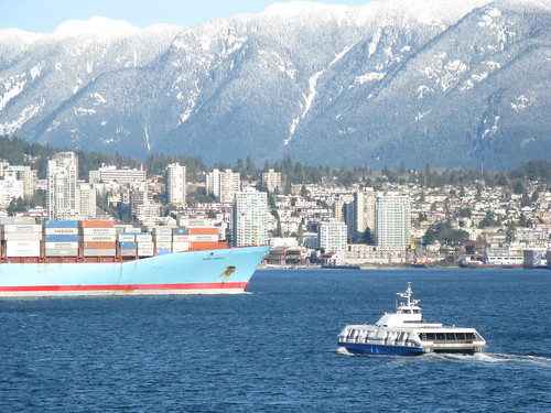 Seabus approaching North Vancouver | by DennisTsang