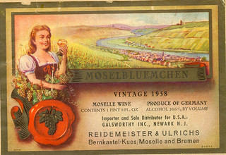 """1958 - """"Moselblümchen"""" (Mosel)"""