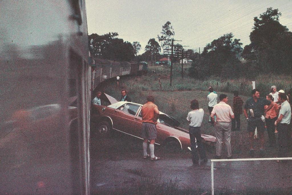 level crossing accident by Leonard J Matthews