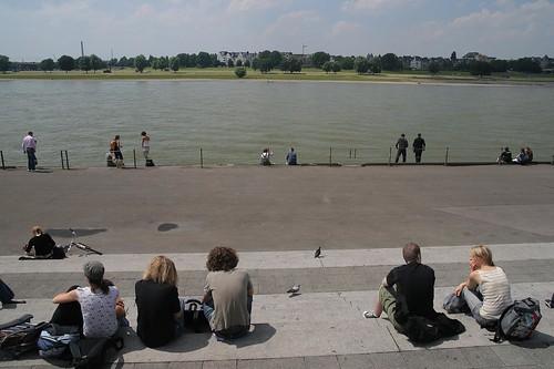 Visita corta a Düsseldorf