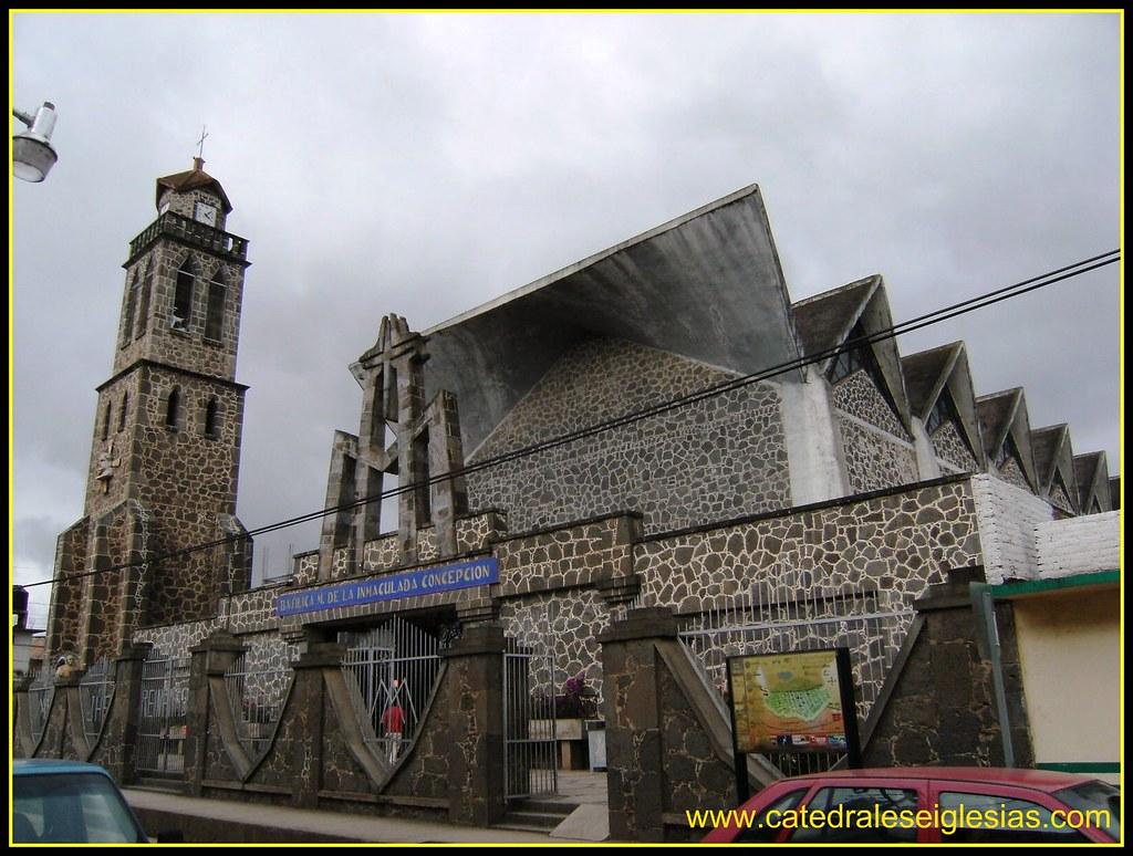 Basilica Menor de la Inmaculada Concepción (Chignahuapan) Estado de Puebla,México