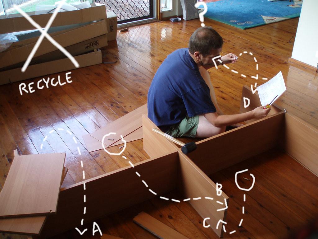 05/11/2008 (Day 2.310) - Flatpack Furniture | Assembling a c… | Flickr