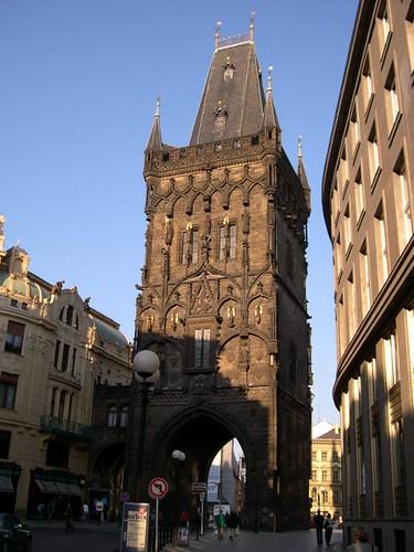 Prague - Powder Tower / Praha - Mihulka