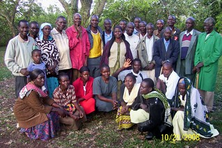 Nyangina Village community members