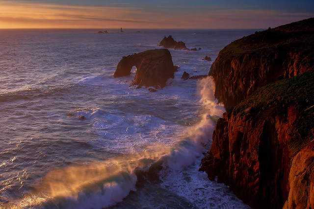 Wave power - Enys Dodnan