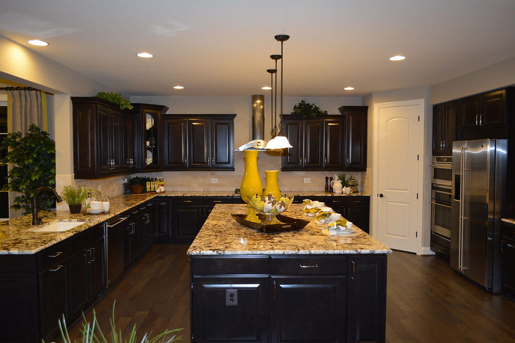 Gourmet Kitchen In The Danika By Richmond American Homes