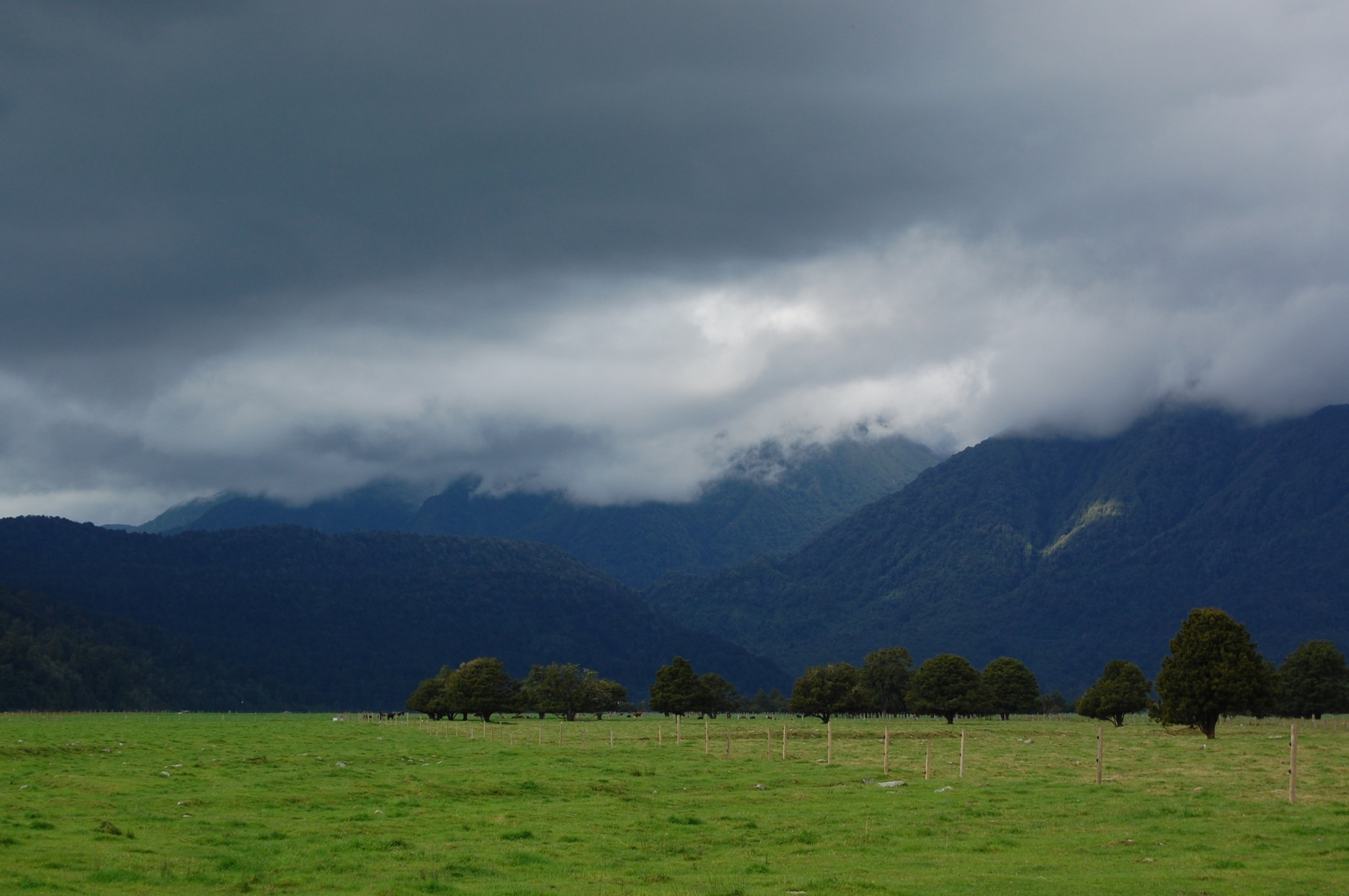 Nekde tam je Mt Cook