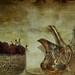 Tea and Cherries by lynne bernay-roman