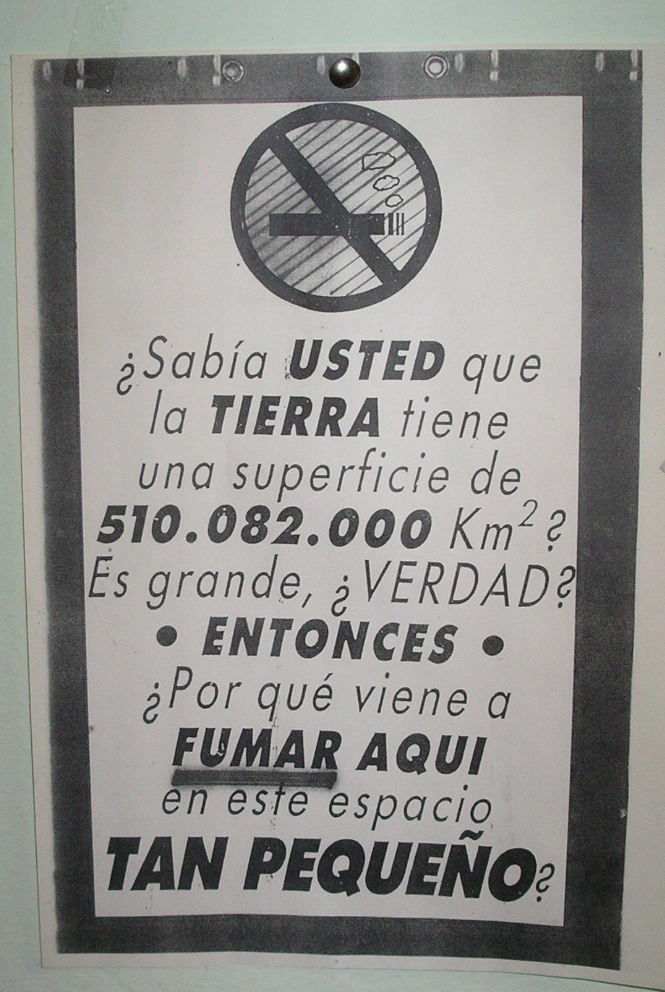 no smoking spain