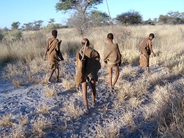 Bushmen family - Ghanzi, Botswana