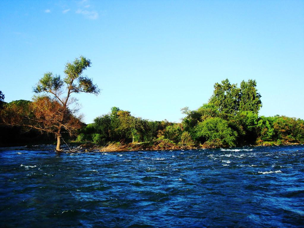 Río Sabinas en Múzquiz.