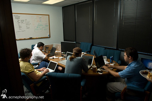 Phoenix Startup Weekend Event - Reserve Chute coding | by ACME-Nollmeyer
