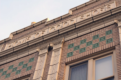 Sholem Building :: Home of Good Shoes | by carissapod :: fish parade