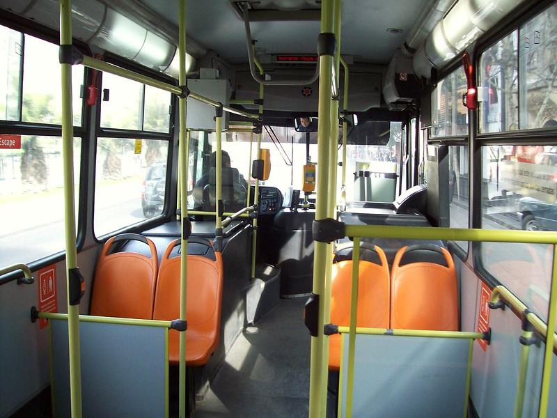 Interior Bus 418