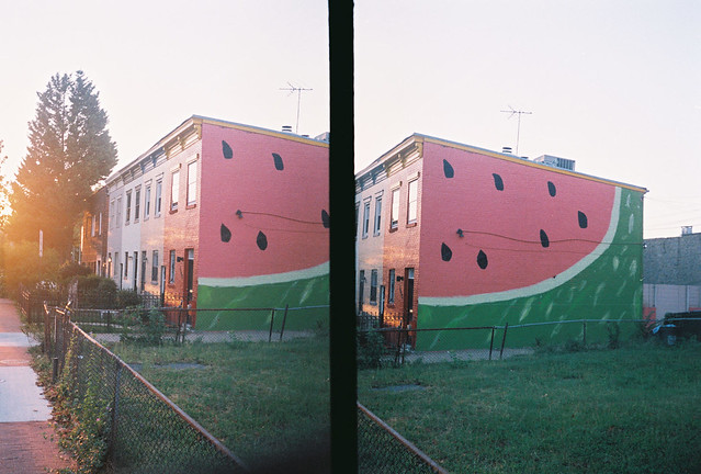 happy house diptych