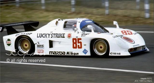 24 Heures du Mans 1985 Mazda 937C Katayama Terada Yorino