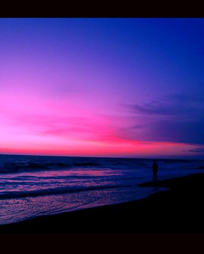 sunset india beach kerala trivandrum shanghumugham shanghumughambeach