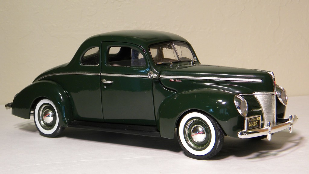 1940 Ford Deluxe Coupe Ertl 1 18th Scale Diecast Model Flickr