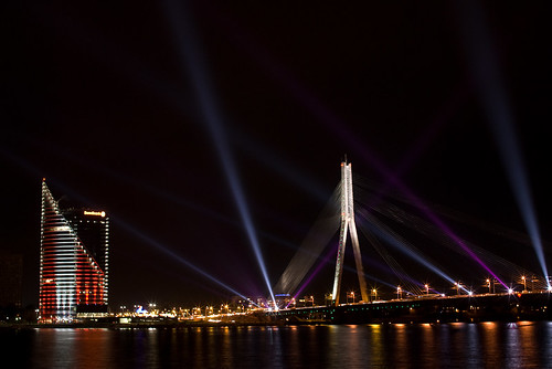 Riga_view from old town_90'th Birthday | by Imants/Simba