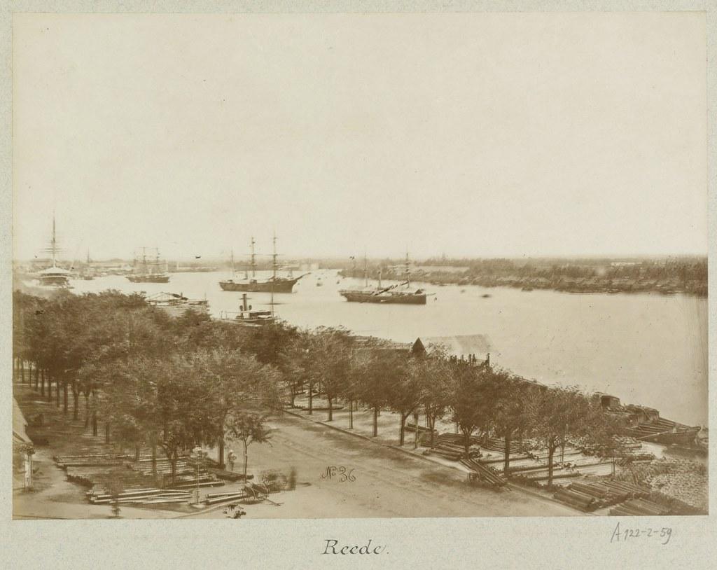 Ships on the port of Saigon 1888   tàu trên sông SG   manhhai   Flickr