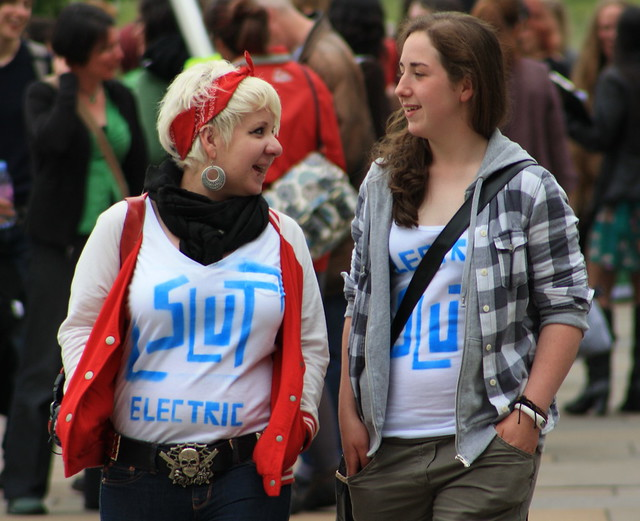 Edinburgh: Slutwalk 2011