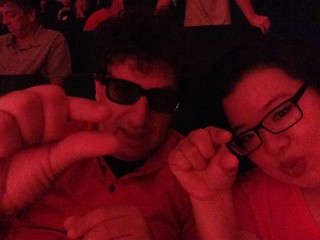 PIC: @CartoonFlophous & @jozjozjoz at advanced screening of #ANTMAN! #Aushenker | by @jozjozjoz