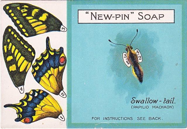 chromo new pin soap - swallow-tail
