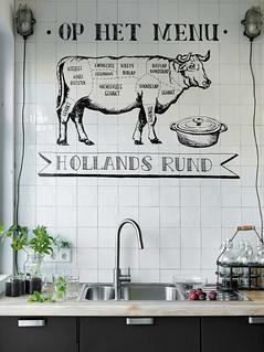 DIY Cafe Mural | vtwonen nl | Heath Ashli | Flickr