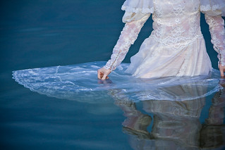Floating dress | by Aaron Barker