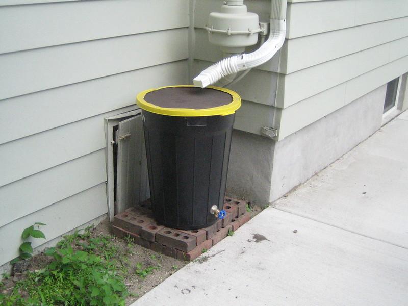 rain barrel | DIY Spring Garden Ideas To Get Ahead This Growing Season