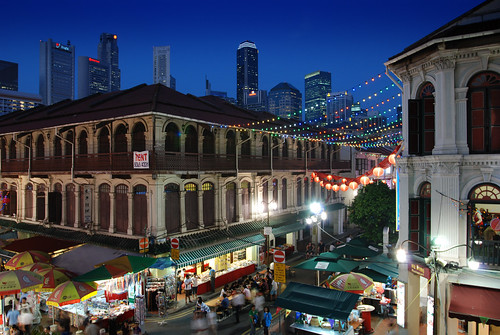 Chinatown by night, Singapore | by williamcho