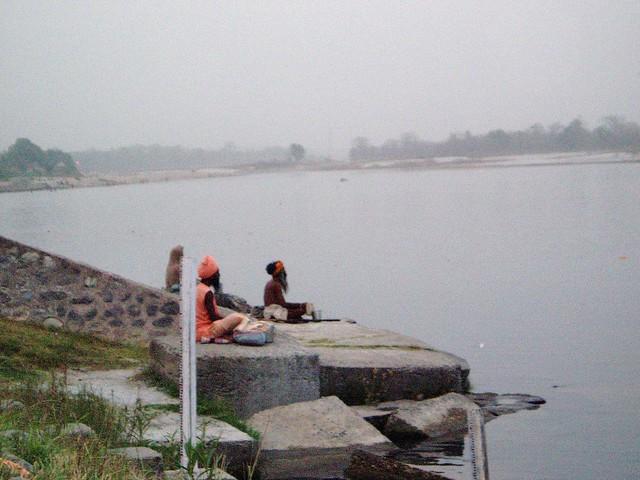 Meditation with River Ganga