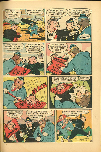 Elsie the Cow 003 (D.S. - JulyAug 1950) 007   by senses working overtime