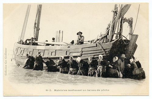 Work At Sea: Heave! (c.1903) | by postaletrice
