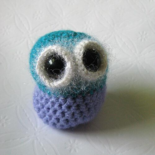 Whatizzit?  Amigurumi Owl or Pill Stuffie