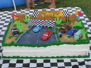 Remarkable Disney Cars Cake My Sons 1St Birthday Cake Cake Is A Yel Flickr Personalised Birthday Cards Petedlily Jamesorg