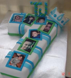 Magnificent Number 7 Cake Minerva Reyes Flickr Funny Birthday Cards Online Inifodamsfinfo