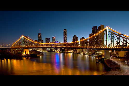 Story Bridge at Twilight