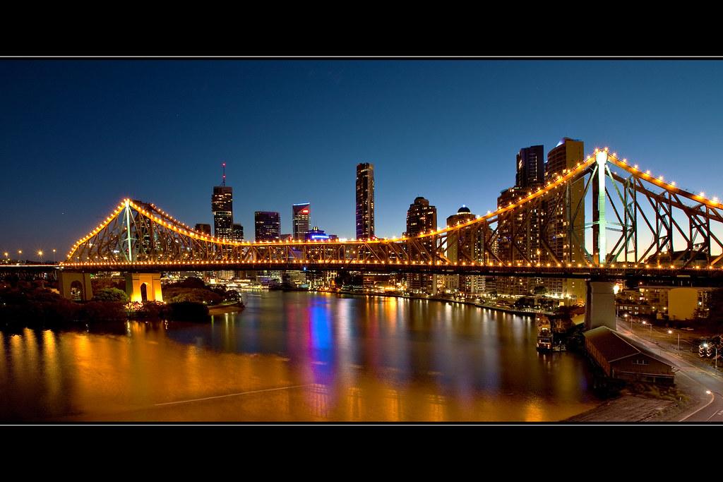 Story Bridge at Twilight