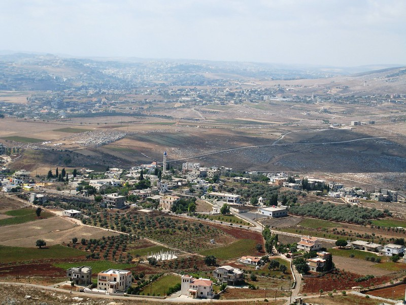 View from Beaufort Castle, Lebanon