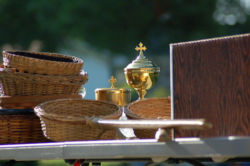 picture of offertory baskets