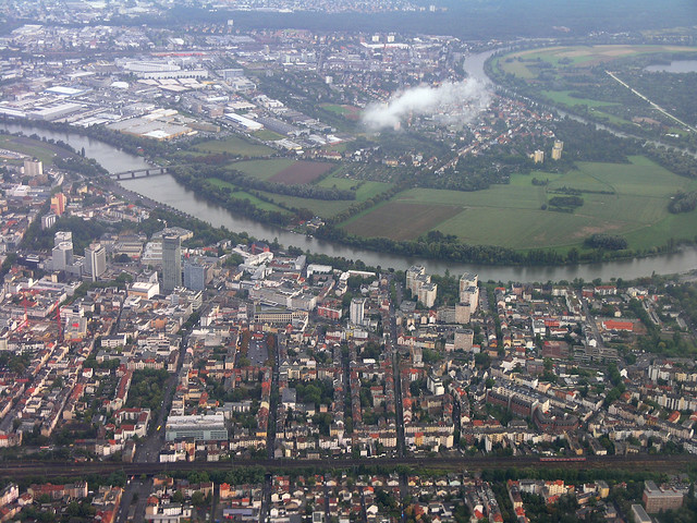 Frankfurt - aerial 1